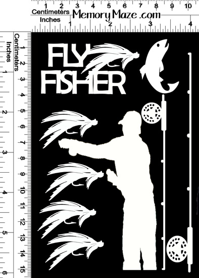 FLY FISHER 100 X 150  MIN BUY 3